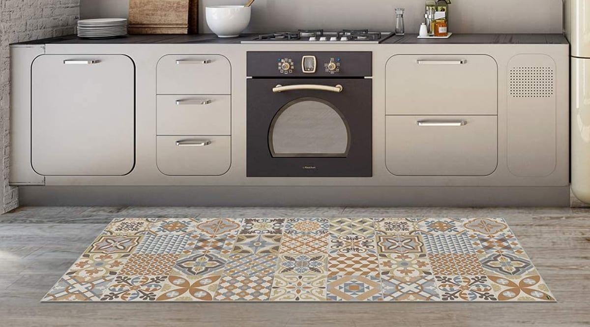 Alfombra de vinilo Vilber Toledo barata, alfombras de vinilo de marca baratas, ofertas hogar, chollo