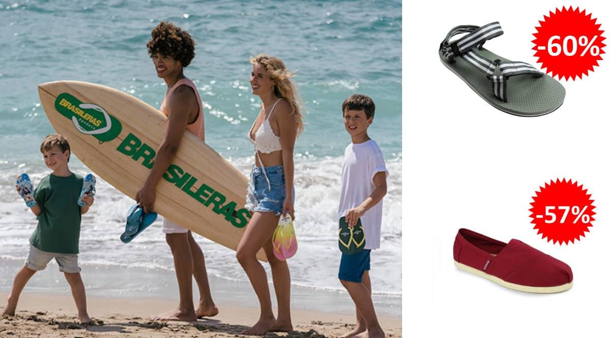 Alpargatas y sandalias Blasileras baratas, calzado para verano de marca barato, ofertas en calzado, chollo