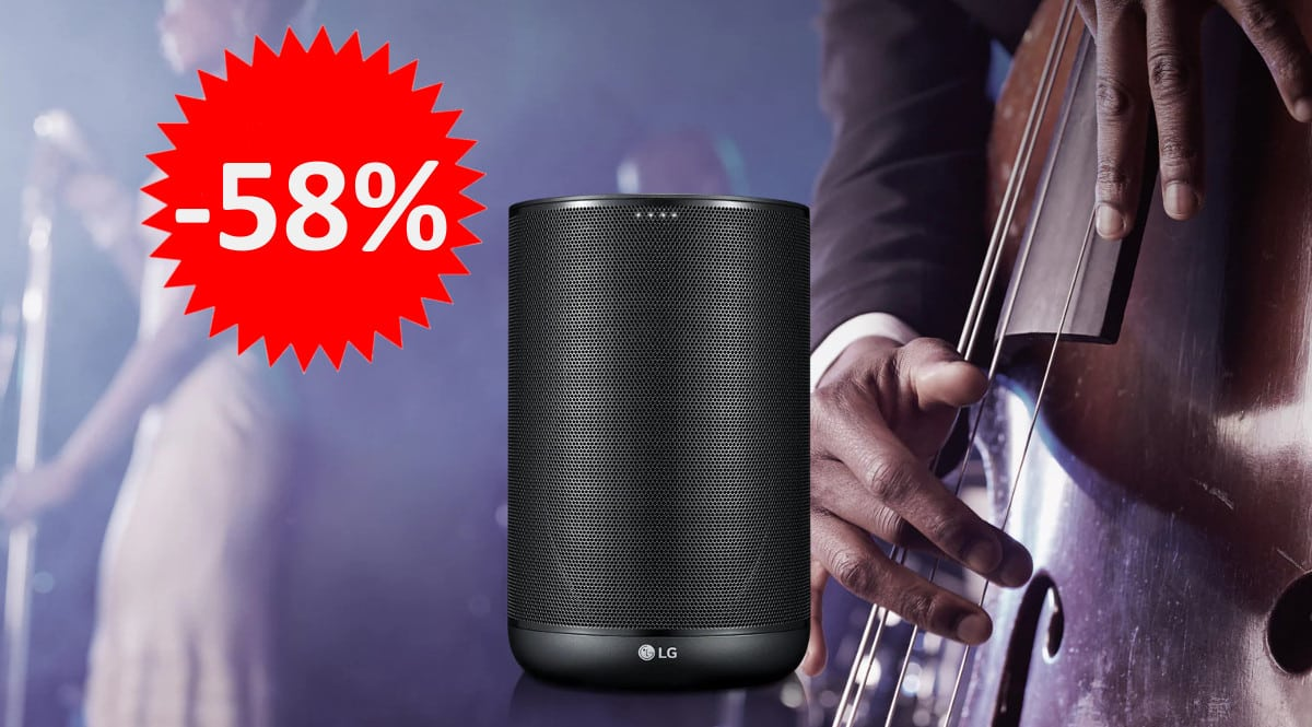 Altavoz inteligente LG KW7 barato. Ofertas en altavoces inteligentes, altavoces inteligentes baratos, chollo