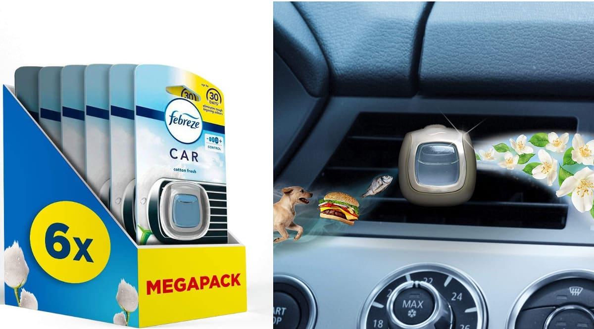 Ambientador para coche Ambi Pur Car Nube De Algodón barato, ambientadores de marca baratos, ofertas coche, chollo