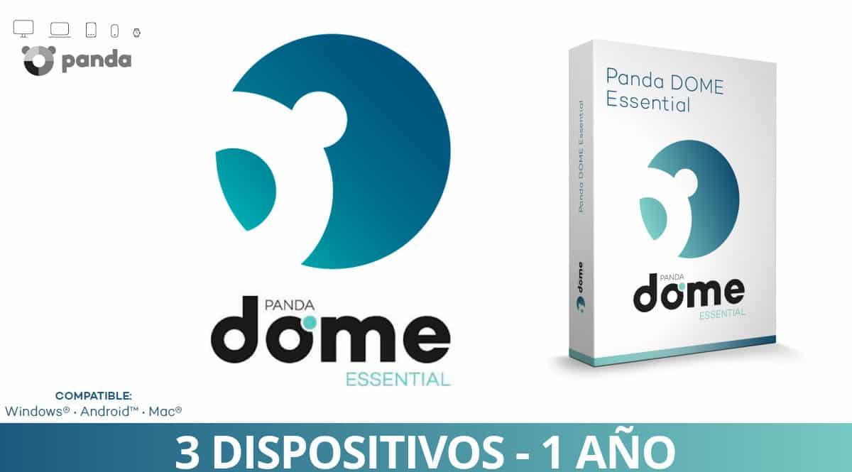 Antivirus Panda Dome Essential 2021 barato, ofertas en antivirus, antivirus baratos, chollo
