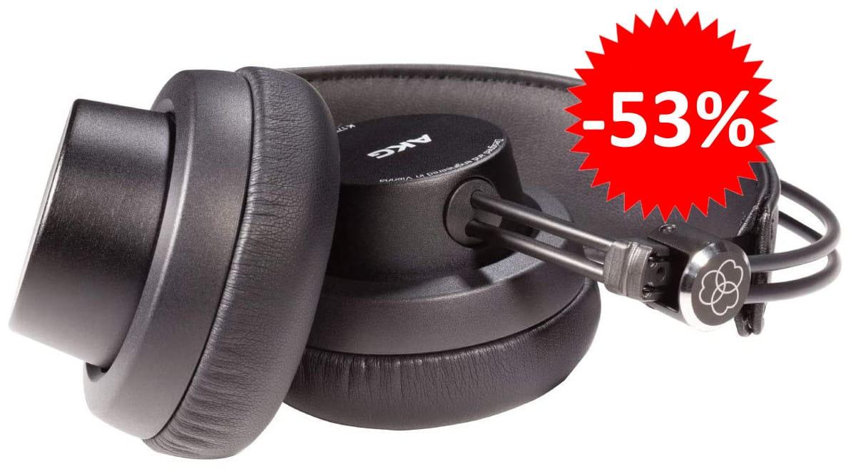 Auriculares AKG K175 baratos. Ofertas en auriculares, auriculares baratos, chollo