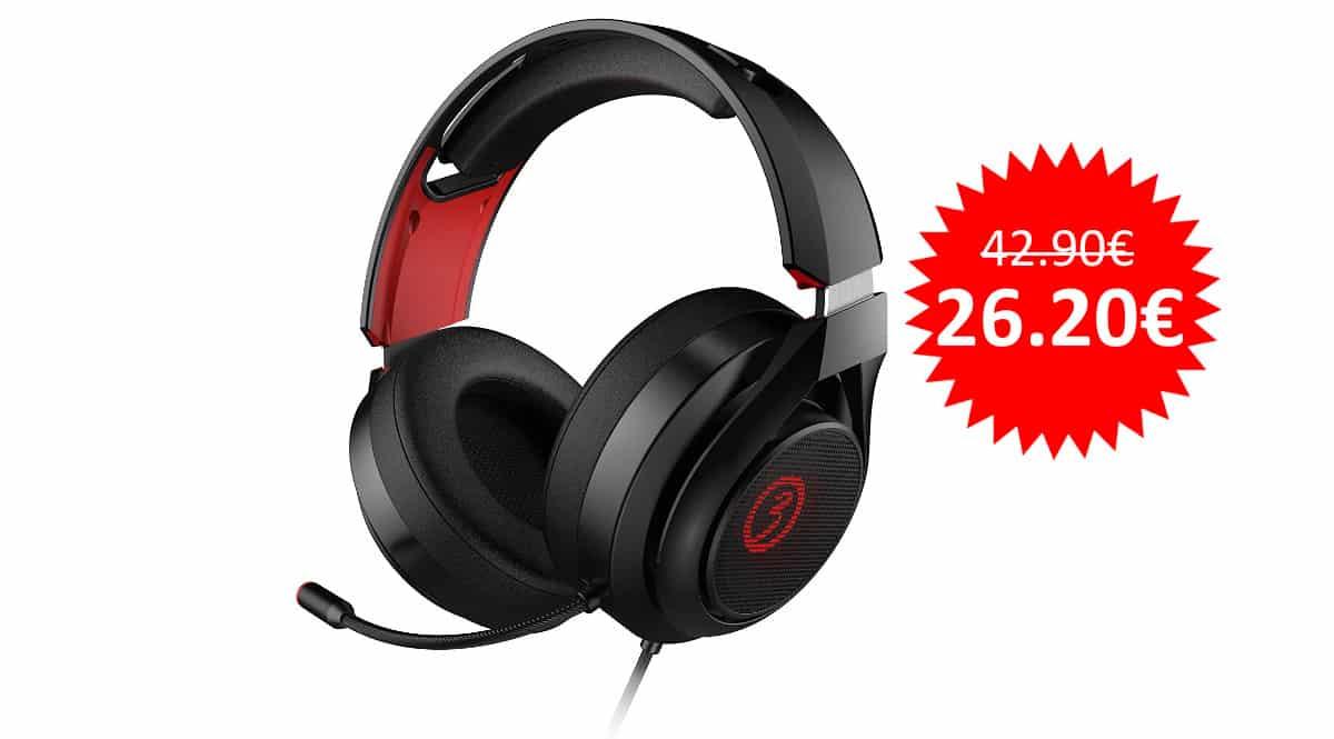 ¡Precio mínimo histórico! Auriculares gaming 7.1 Ozone Rage X40 sólo 26 euros.