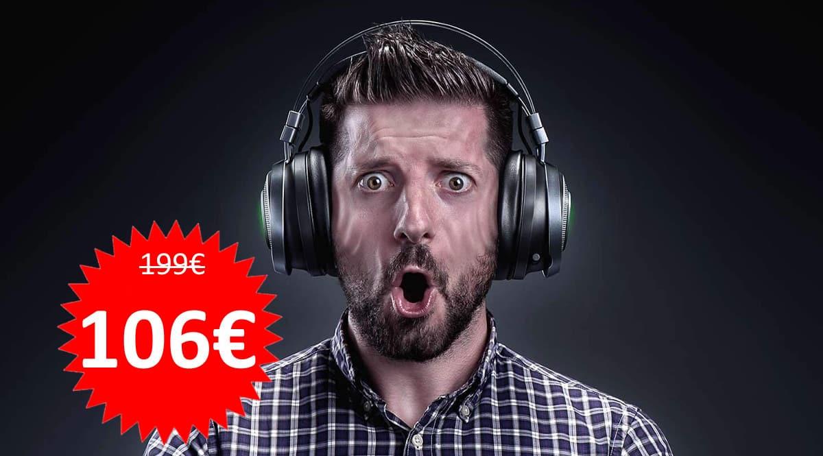 Auriculares inalámbricos Razer Nari Ultimate baratos. Ofertas en auriculares, auriculares baratos, chollo