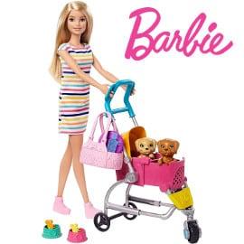 ¡¡Chollo!! Barbie y su Carrito para Mascotas sólo 20.96 euros.