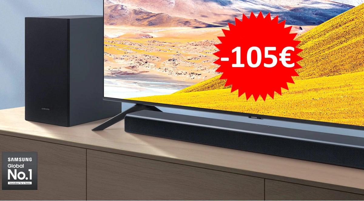 Barra de sonido Samsung HW-T550 barata. Ofertas en barras de sonido, barras de sonido baratas, chollo