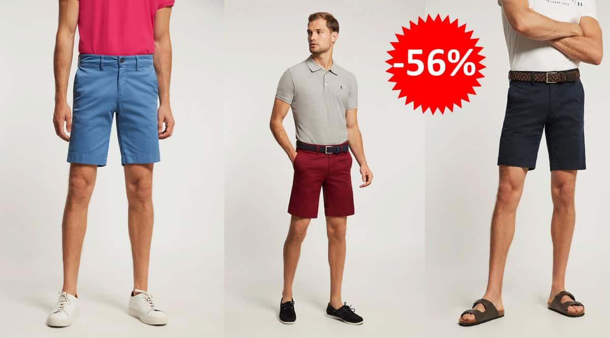 Bermuda Polo Club Custom Fit barata, pantalones cortos de marca baratos, ofertas en ropa, chollo