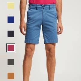 Bermuda Polo Club Custom Fit barata, pantalones cortos de marca baratos, ofertas en ropa