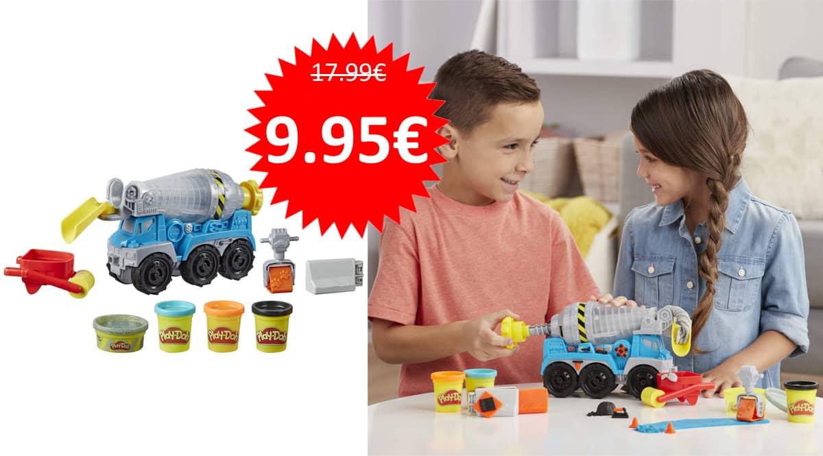 Camión de cemento Play-Doh barato. Ofertas en juguetes, juguetes baratos, chollo