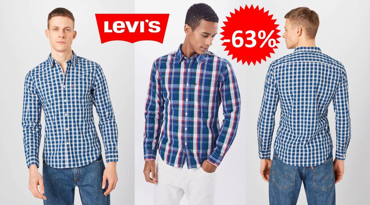 Camisa de manga larga Levi's Classic barata, camisas de marca baratas, ofertas en ropa, chollo