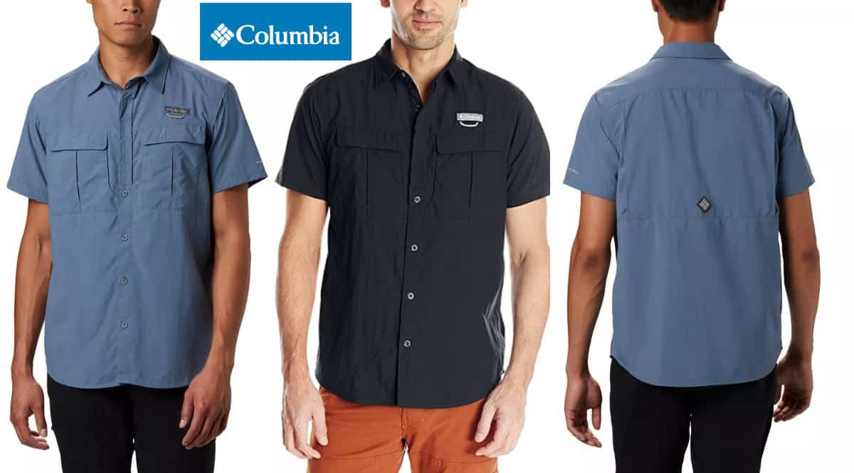 Camisa para deporte Columbia Cascades Explorer barata, camisas de marca baratas, ofertas en ropa, chollo