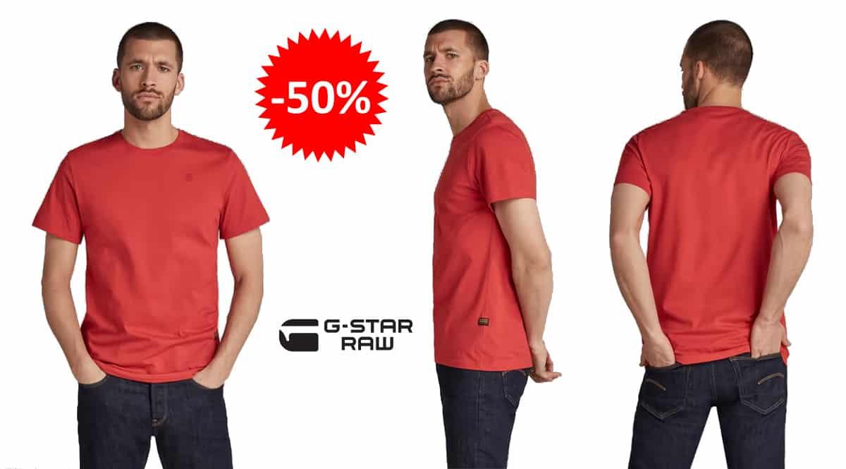 Camiseta G-Star Raw Base-S barata, ropa de marca barata, ofertas en camisetas chollo