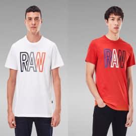 Camiseta G-Star Raw Raw barata, camisetas de marca baratas, ofertas en ropa