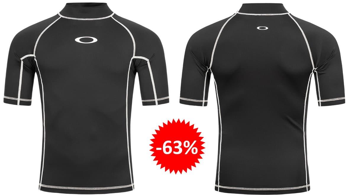 Camiseta Oakley Reflector Rashguard barata, ropa de marca barata, ofertas en material deportivo chollo