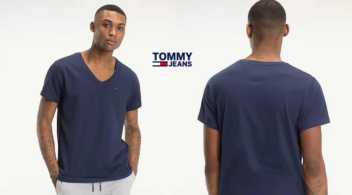Camiseta Tommy Jeans barata. Ofertas en ropa de marca, ropa de marca barata, chollo
