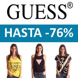 Camisetas Guess baratas, ropa de marca barata, ofertas en camisetas