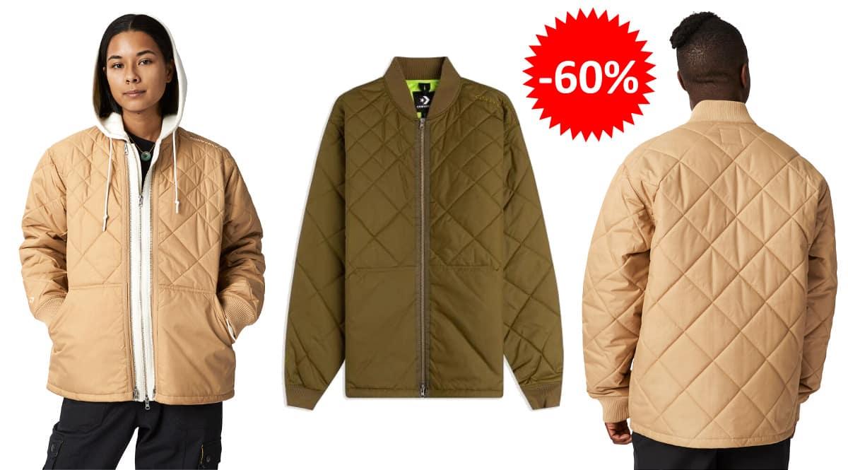 Chaqueta Converse Utility Fleece Padded barata, ropa de marca barata, ofertas en chaquetas chollo