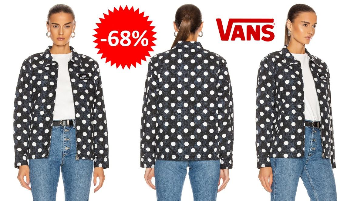 Chaqueta Vans x Sandy Liang barata, ropa de marca barata, ofertas en chaquetas chollo