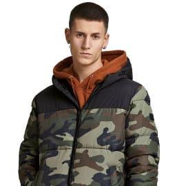 Chaqueta acolchada Jack & Jones barata, ropa de marca barata, ofertas en chaquetas