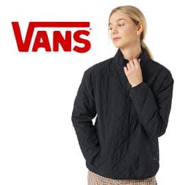 Chaqueta de entretiempo Vans Quilted V Mock barata, ropa de marca barata, ofertas en chaquetas