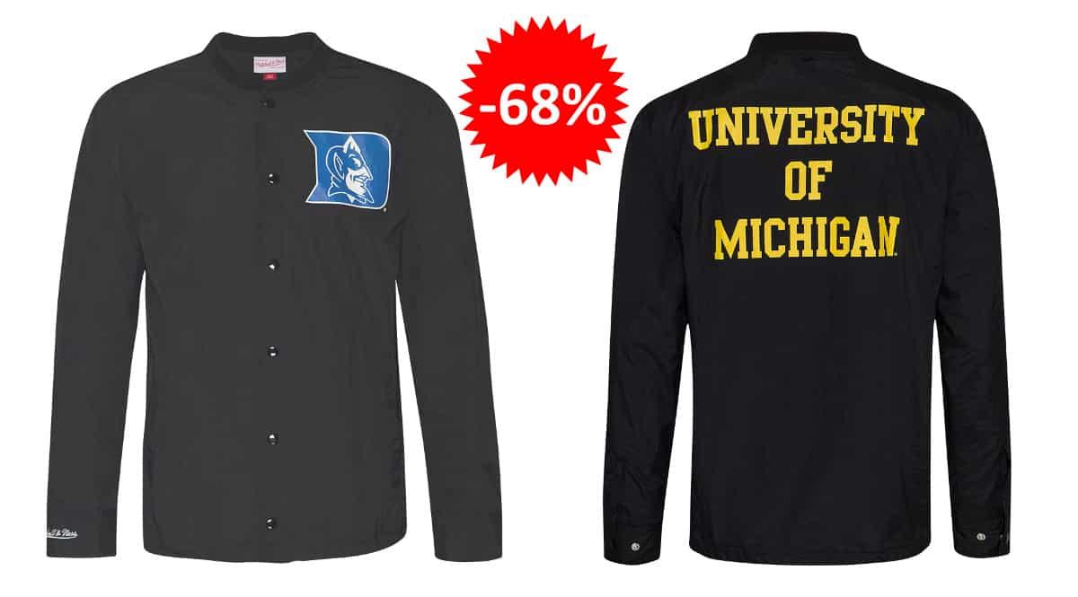 Chaquetas Mitchell & Ness University baratas, ropa de marca barata, ofertas en chaquetas chollo
