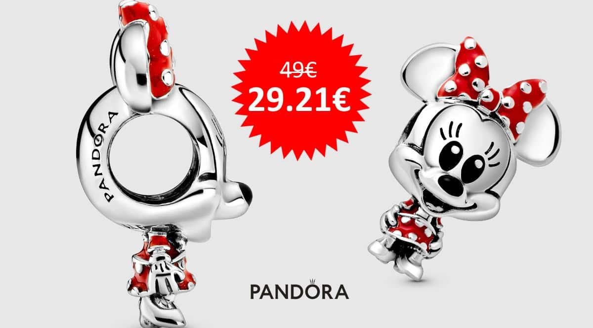 ¡¡Chollo!! Charm Pandora Disney Minnie Mouse sólo 29 euros.