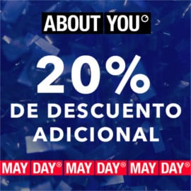 Código descuento About You May Day. Ofertas en ropa de marca, ropa de marca barata, ofertas en zapatillas, zapatillas baratas
