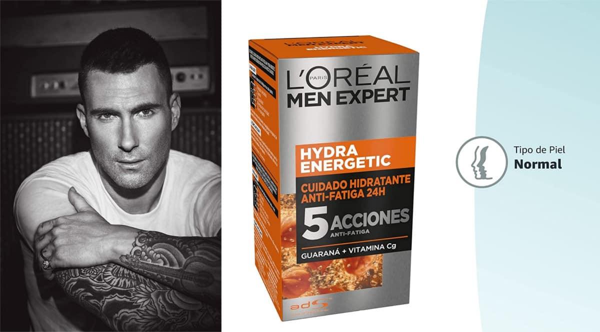 Crema hidratante L'Oreal Paris Men Expert Hydra Energetic barata. Ofertas en cuidado personal, chollo