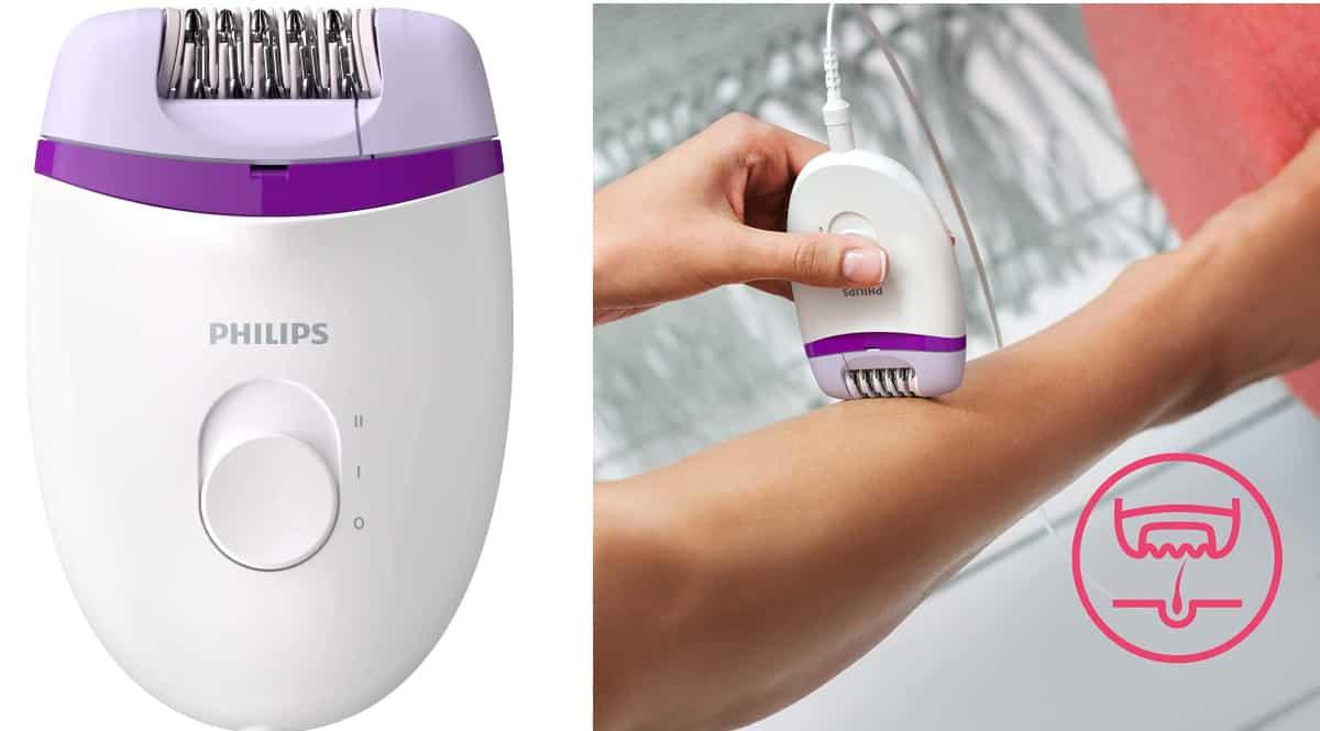 Depiladora Philips Satinelle Essential barata, depiladoras de marca baratas, ofertas en belleza, chollo