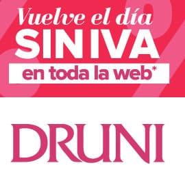 Día sin Iva Druni, cosméticos, perfumes de marca baratos, ofertas en belleza