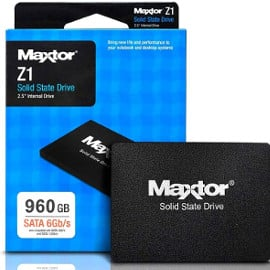 ¡¡Chollo!! Disco duro sólido Maxtor Z1 SSD 960GB SATA3 sólo 82.94 euros.