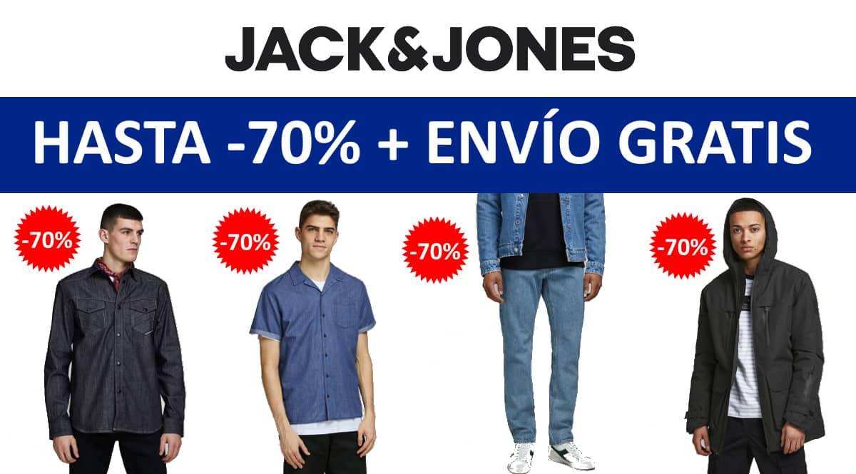Envío gratis en las rebajas de Jack & Jones, ropa de marca barata, ofertas en ropa chollo
