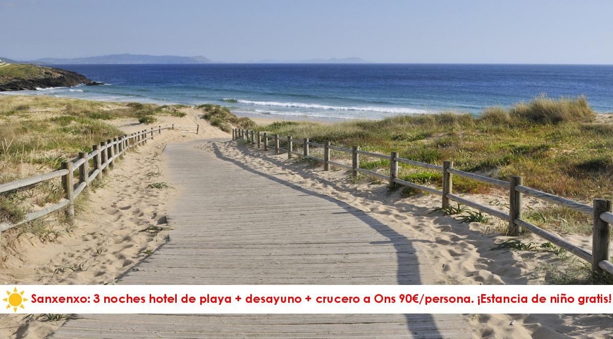 Escapada a Sanxenxo -hoteles-baratos-opfertas-viajes-a-las-Rias-Baixas-chollo