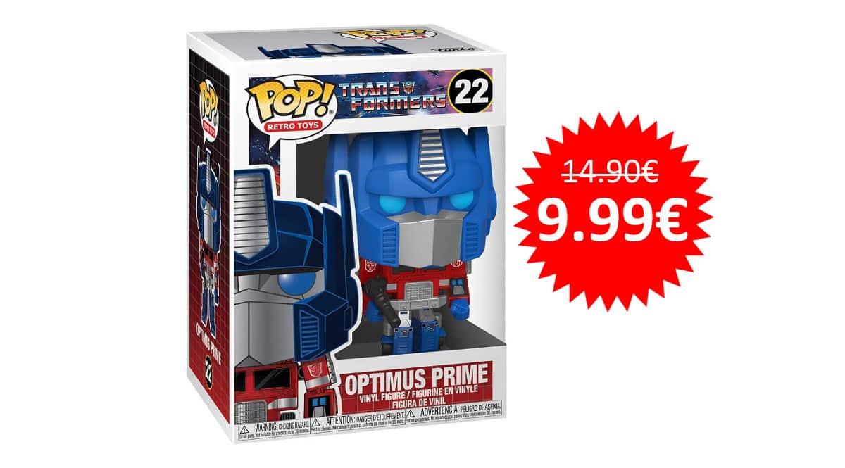 ¡Precio mínimo histórico! Funko Pop Vinyl Transformers Optimus Prime sólo 9.99 euros.