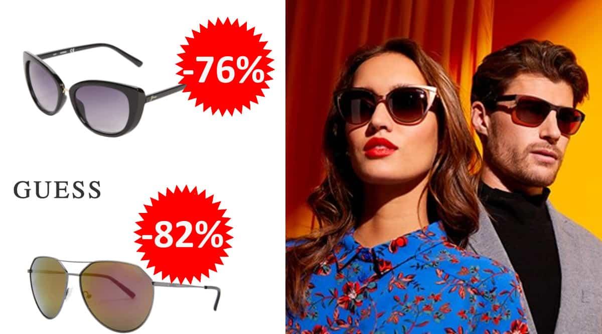 Gafas de sol Guess para hombre o mujer baratas, gafas de marca baratas, ofertas óptica, chollo
