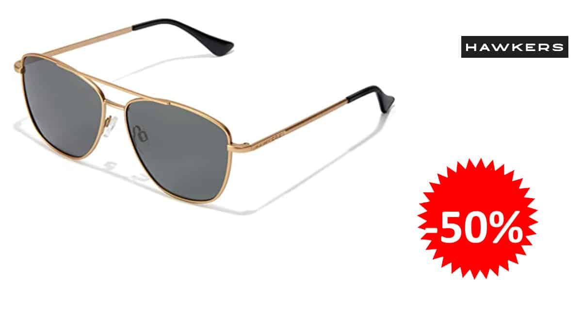 Gafas de sol polarizadas Hawkers Lax baratas, gafas de marca baratas, ofertas moda, chollo