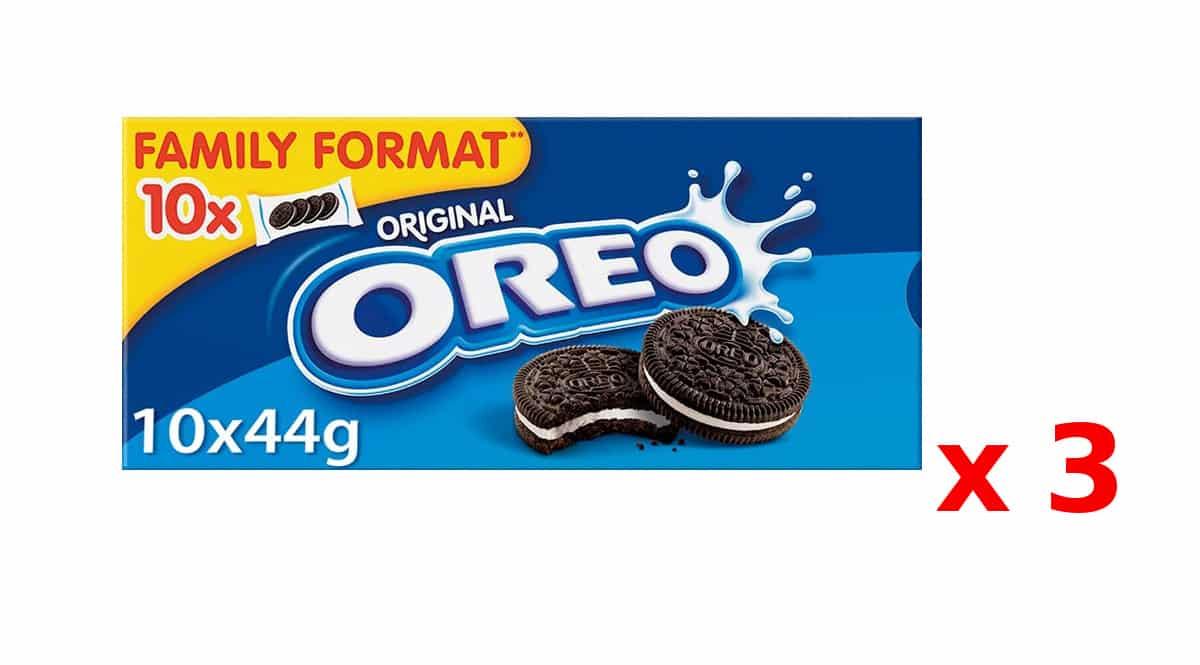 Galletas Oreo baratas, galletas de chocolate baratas, ofertas en supermercado, chollo
