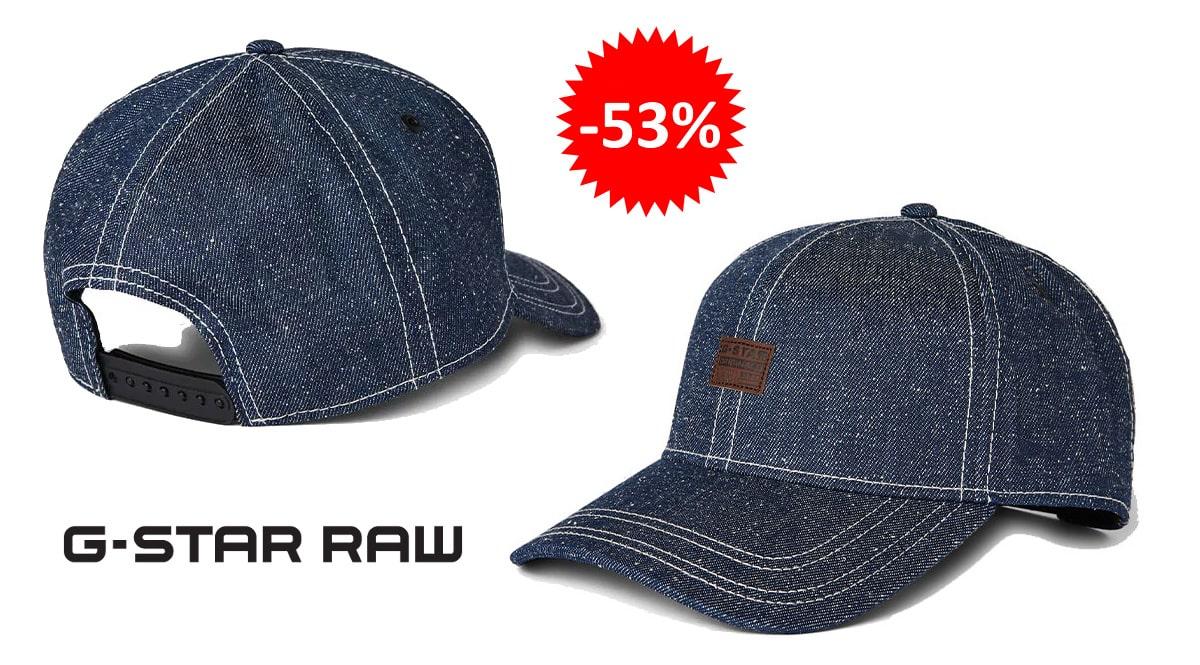 Gorra G-Star Raw Denim Plus barata, complementos baratos, ofertas en gorras chollo