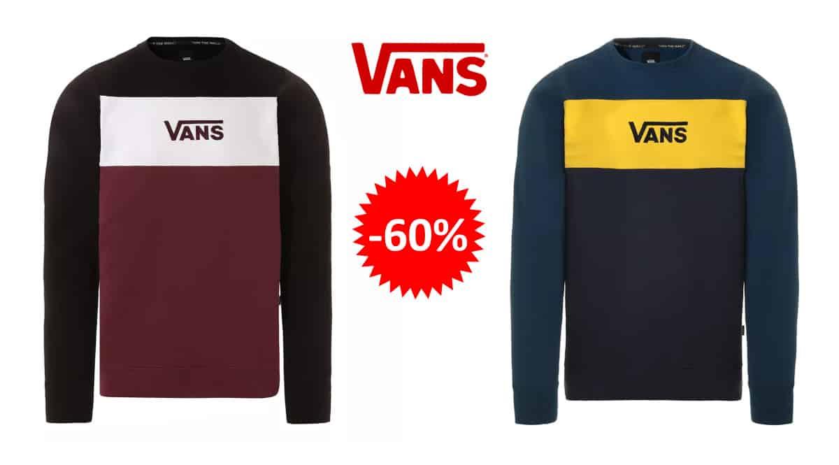 Jersey Vans Retro Active barato, ropa de marca barata, ofertas en jerseis chollo