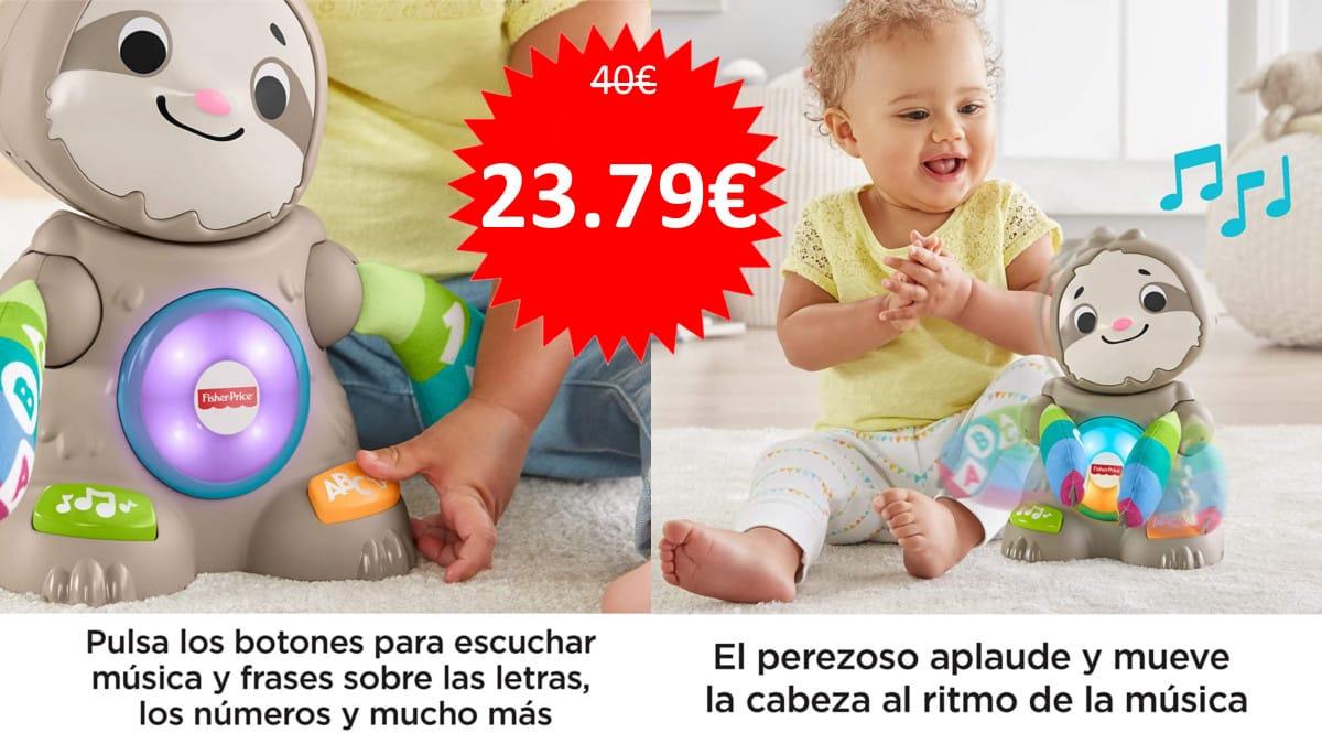 Juguete Perezoso Linkimals Fisher-Price barato. Ofertas en juguetes, juguetes baratos, chollo