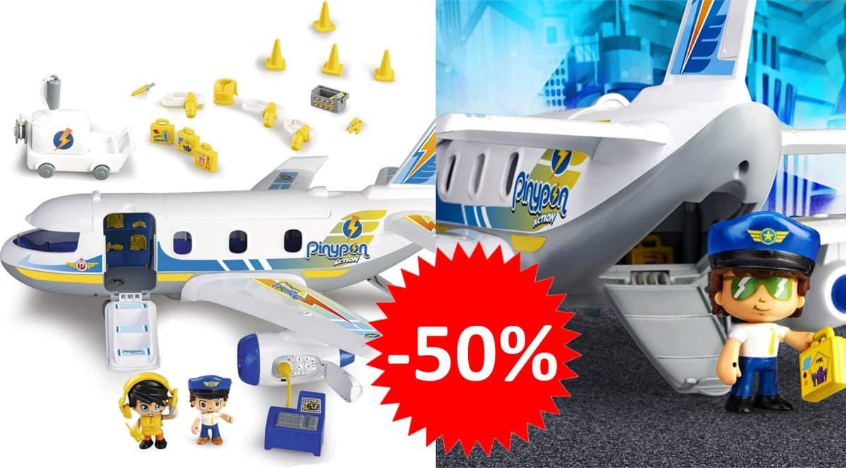 Juguete Pinypon Emergencia en el avión barato. Ofertas en juguetes, juguetes baratos,chollo
