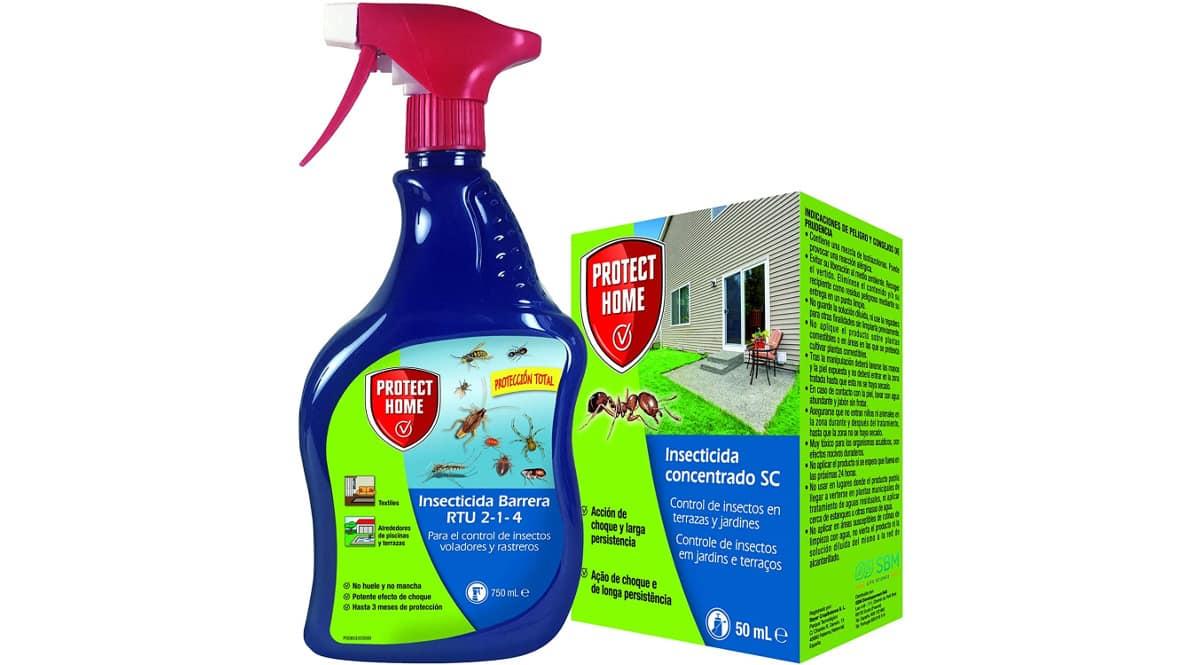 Kit insecticida Protect Home contra rastreros y voladores barato, insecticidas baratos, ofertas hogar, chollo