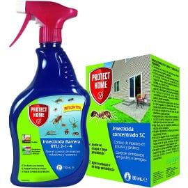 Kit insecticida Protect Home contra rastreros y voladores barato, insecticidas baratos, ofertas hogar