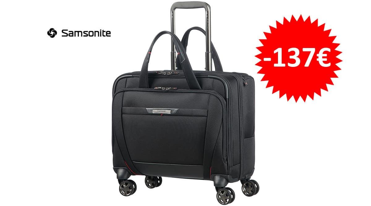 ¡Precio mínimo histórico! Maleta spinner de viaje Samsonite Pro-DLX 5 15.6″ sólo 192 euros. Te ahorras 137 euros.