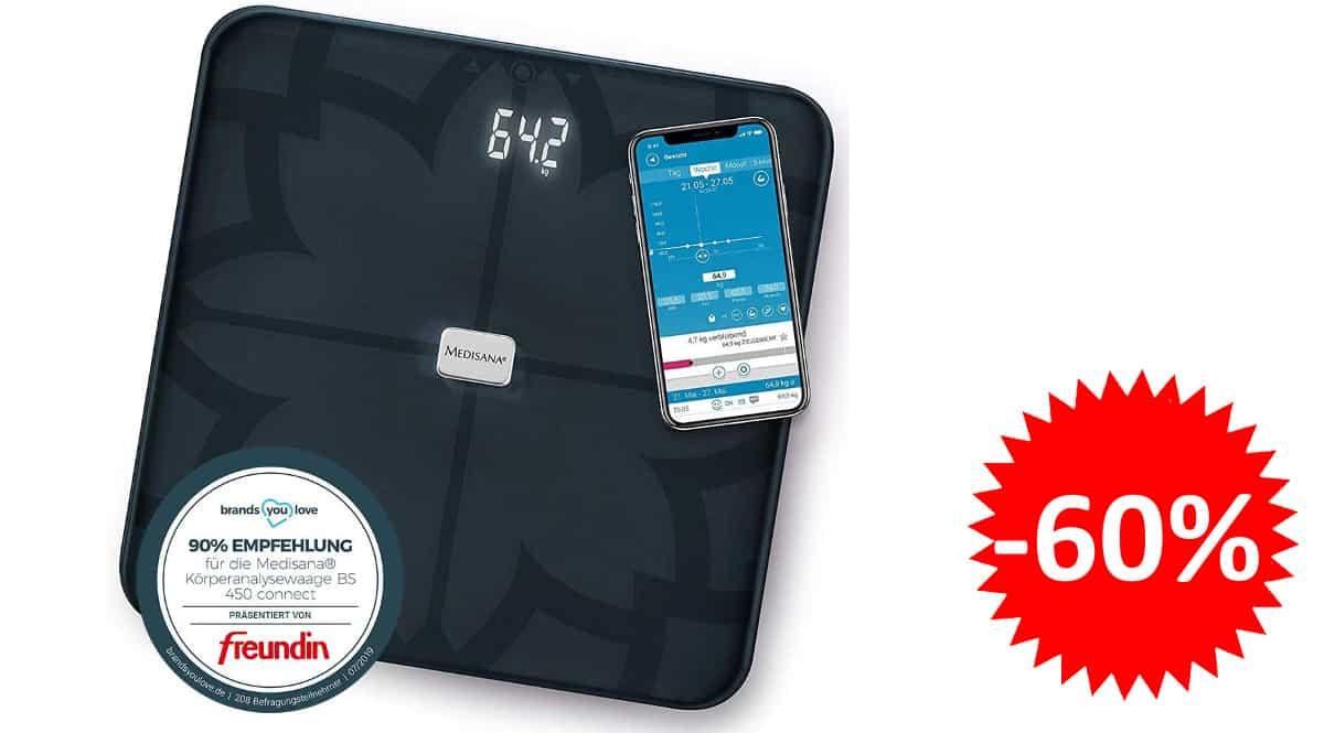 Medisana BS 450 connect barata, pesas de baño baratas, ofertas en cuidado personal, chollo