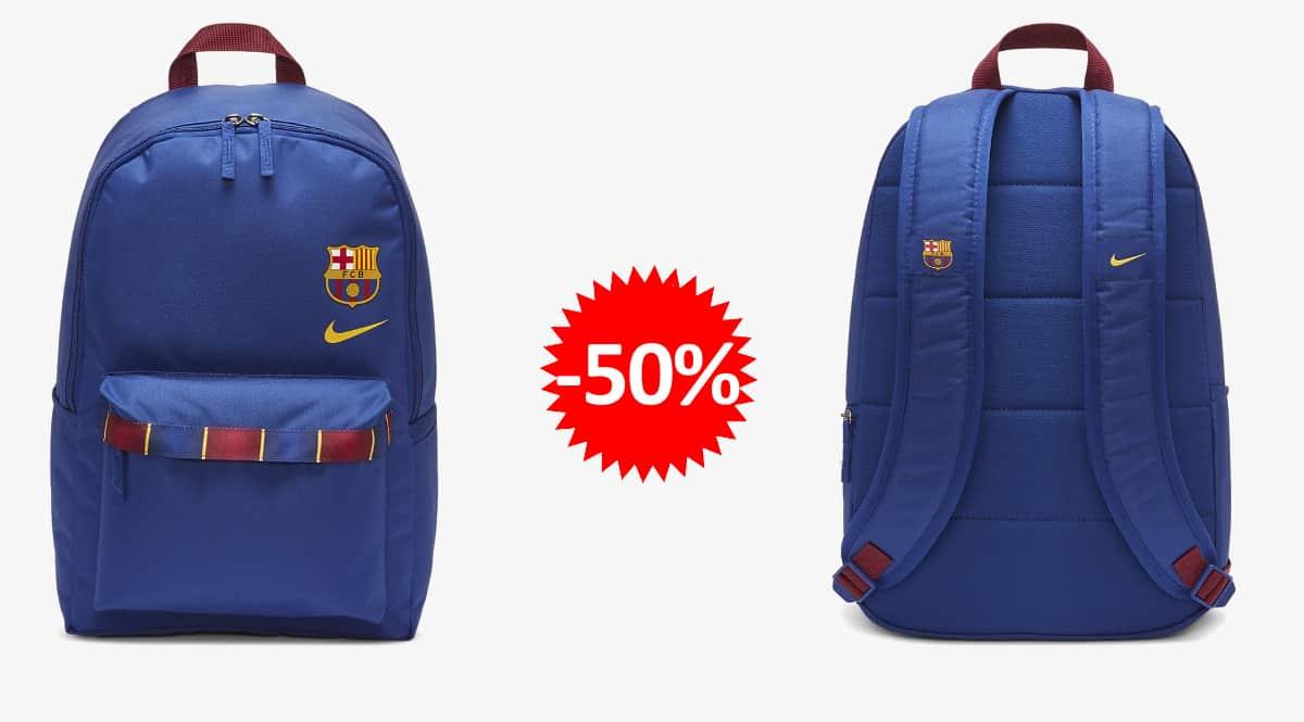Mochila Nike FC Barcelona Stadium barata, mochila BarÇa barata, ofertas en mochilas, chollo