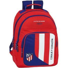 ¡¡Chollo!! Mochila escolar Safta Atlético de Madrid sólo 27 euros. 50% de descuento.