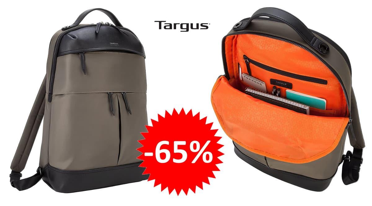 ¡¡Chollo!! Mochila para portátil de 15″ Targus Newport sólo 35.92 euros. 65% de descuento.