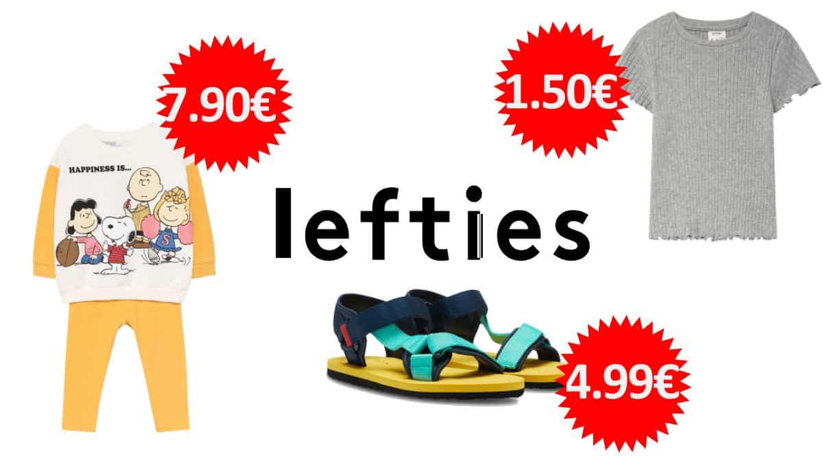 Ofertas en ropa y calzado para niño, niña y bebé Lefties, ropa y calzado para niño barato, ofertas en ropa de marca, chollo