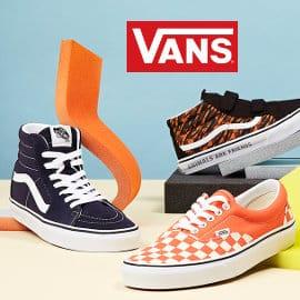Ofertas en tallas sueltas de Vans, ropa y zapatillas Vans baratas, ofertas en ropa y calzado de marca